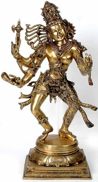 индийская скульптура, латунь