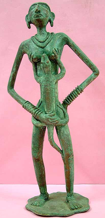 The Mother Goddess (Folk Bronze from Bastar)