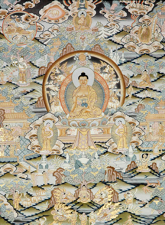 Buddha Shakyamuni and Events From His Life