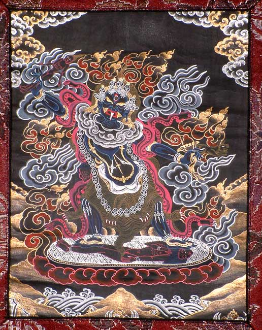 Ekajati (Blue Tara or The Ferocious Tara or The Single-Breasted, One-Eyed and Single-Toothed Goddess)