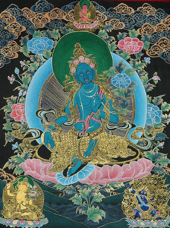 Savior Goddess Green Tara Sgro Ljam