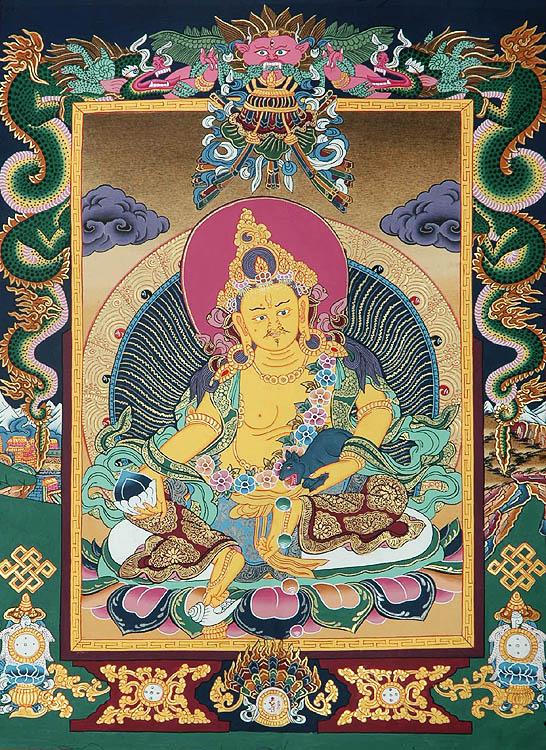 Jambhala (Kubera): The God Who Bestows Wealth and Prosperity
