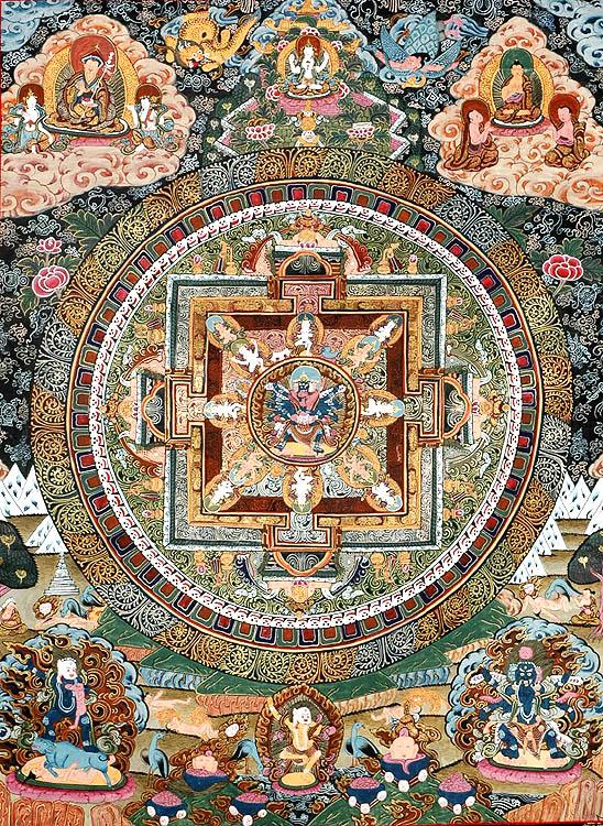 Paramasukha Chakrasamvara Yab Yum Mandala