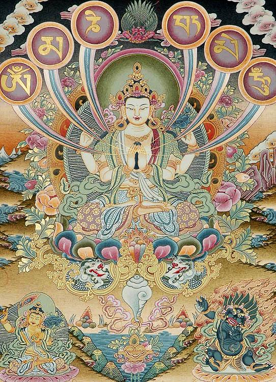 Om Mani Padme Hum - Avalokiteshvara Patron Deity