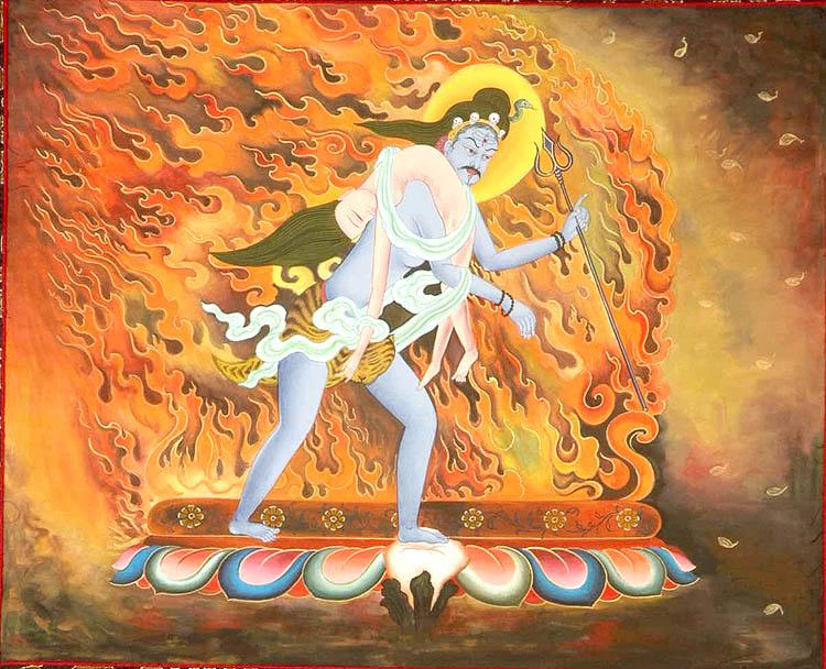 Shiva S Grief Shiva Carrying The Body Of Sati