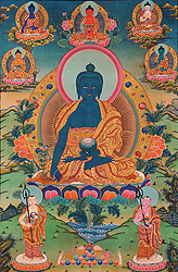 Assembly of the Medicine Buddha
