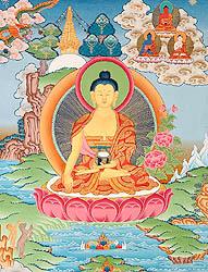 The Buddha Shakyamuni in Bhumisparsha Mudra
