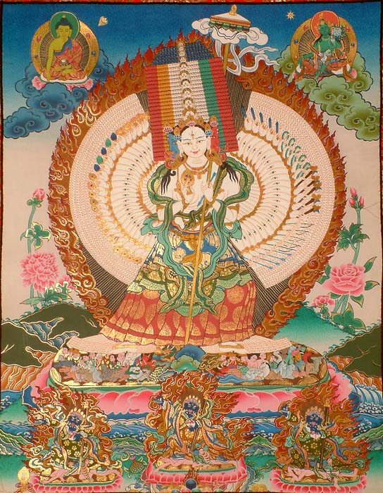 The Most Complex Goddess in the Buddhist Pantheon (Ushnishasitatapattra)