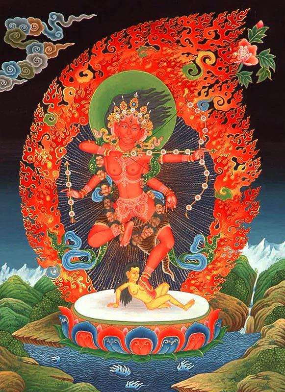 The Red Tara Kurukulla
