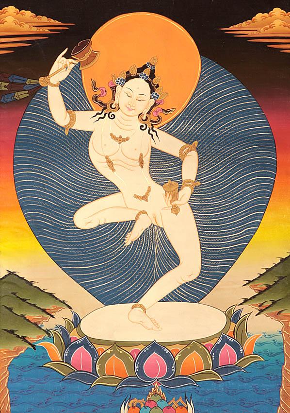 Tibetan Yogini Machig Labdron
