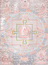 Mandala of Guru Padmasambhava