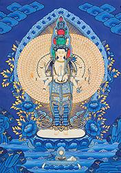 Ekadashamukha (Eleven-Headed) Avalokiteshvara