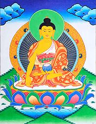 Shakyamuni Buddha with Pindapatra