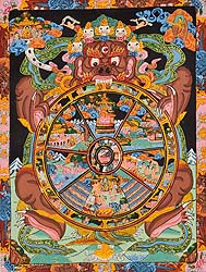 Wheel of Life (Bhavachakra)