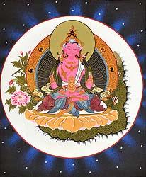 Amitabha as Amitayus Buddha