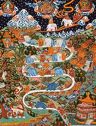 The Nine Progressive Stages of Mental Development (According to Shamatha Meditation Practice)