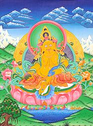 Kubera - Buddhist God of Wealth and Prosperity
