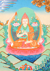 Tsongkhapa -  A Great Buddhist Scholar Monk and Reformer of Tibetan Buddhism