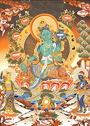 Saviour Goddess Green Tara