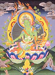 Goddess Green Tara (Sgro Ljam)