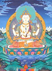 Chenrezig (Shadakshari Lokeshvara)