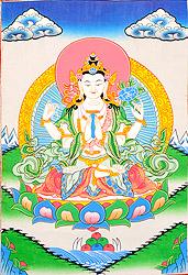 Shadakshari Lokeshvara (Chenrezig)