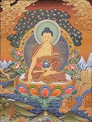 A Fine Portrait of Buddha
