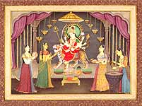 Navaratri - Celebrating the Symbolic Vision of the Goddess