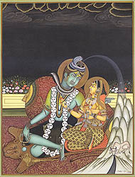 Emergence of Ganga from Shiva's Coiffure