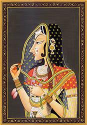 Bani Thani (An Indian Mona Lisa?)