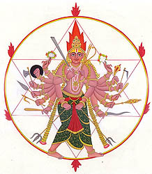The Sudarshana Chakra