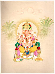 The Benevolent God Ganesha