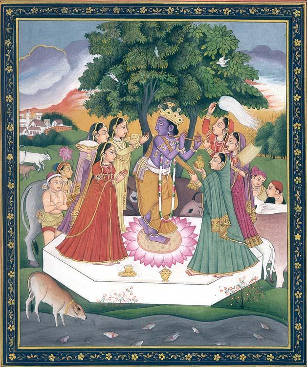 Krishna with Gopis
