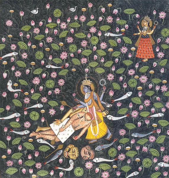 vishnu killed madhu kaitabha