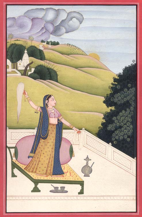 Love-Lorn Ragini Gunakali (Wife of Raga Malkounsa)
