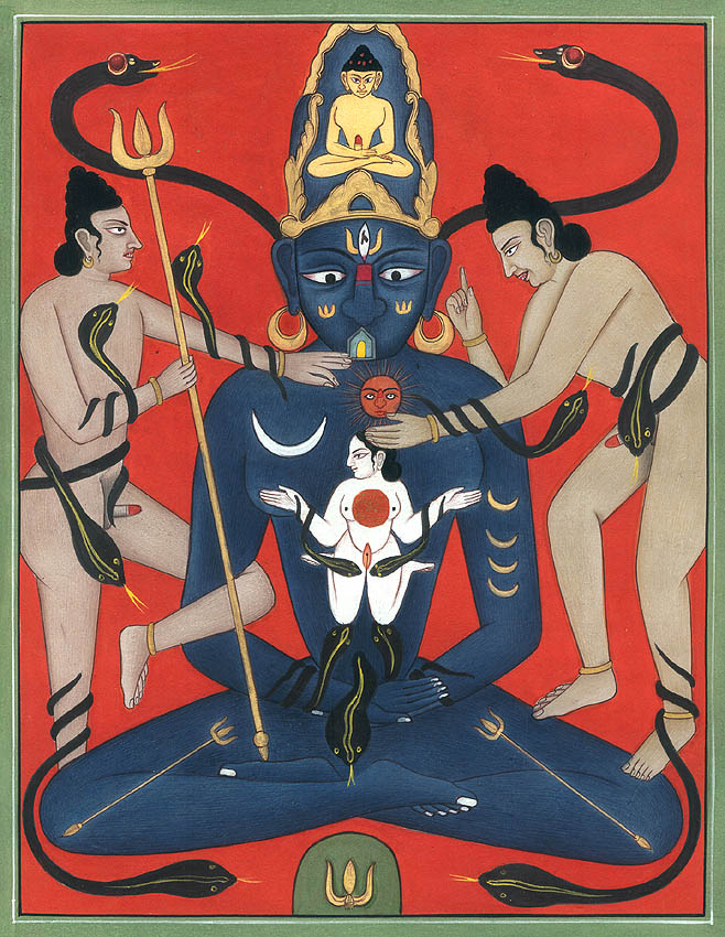 Occult Tantric Figures