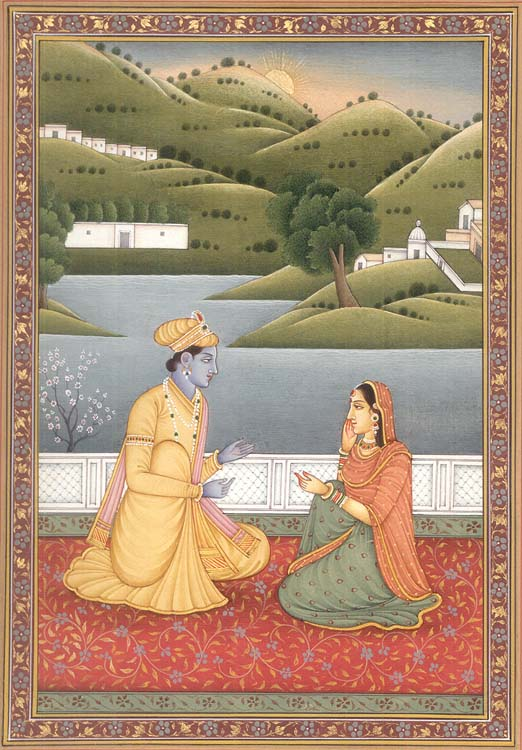 On the Banks of the River Yamuna