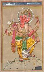 Yuddha Ganesha (Ganesha the Warrior)
