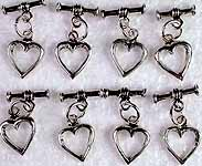 Heart Shaped Toggle Lock