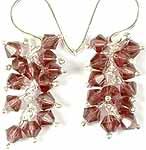Australian Crystal Bunch Earrings