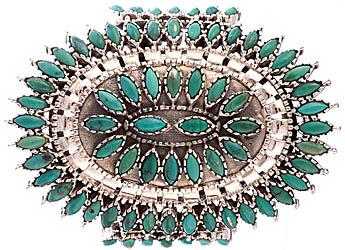 Turquoise Marquis Fine Bracelet