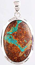 Mexican Turquoise Pendant