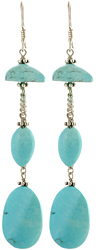Designer Turquoise Earrings