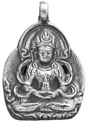 Amitabha Buddha Pendant