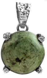 Turquoise Round-Shape Pendant