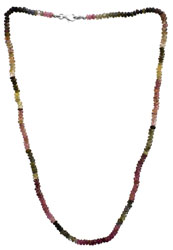 Faceted Tourmaline Necklace