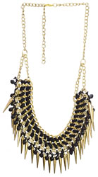 Necklace with Spikes