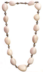 Ivory Beaded Necklace