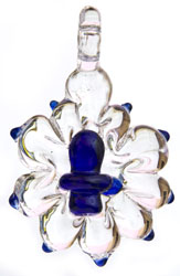 Shiva Linga Pendant (Carved in Glass Crystal)
