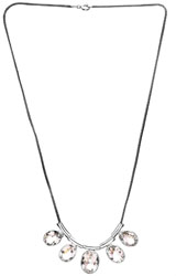 Faceted Crystal Necklace